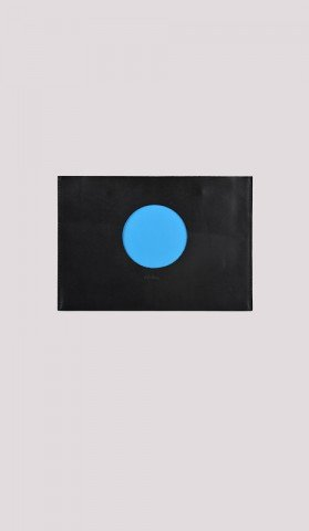 Planet Blue Clutch