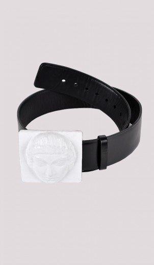 White Defense Belt