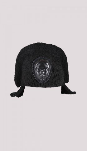 Napoleon Hat with leather face