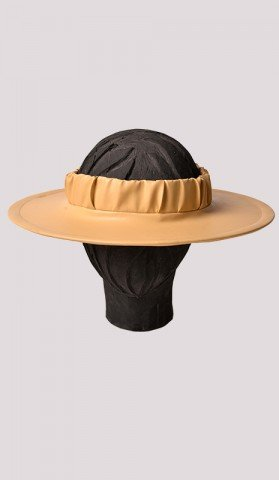 Leather Love Hat - Round