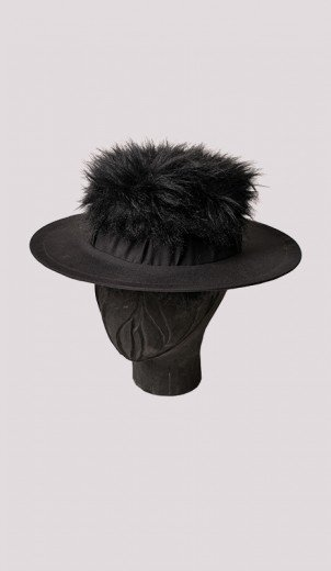 Love Hat with Fur