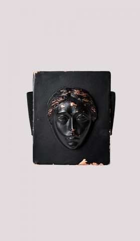 Rubber Cuff with Face